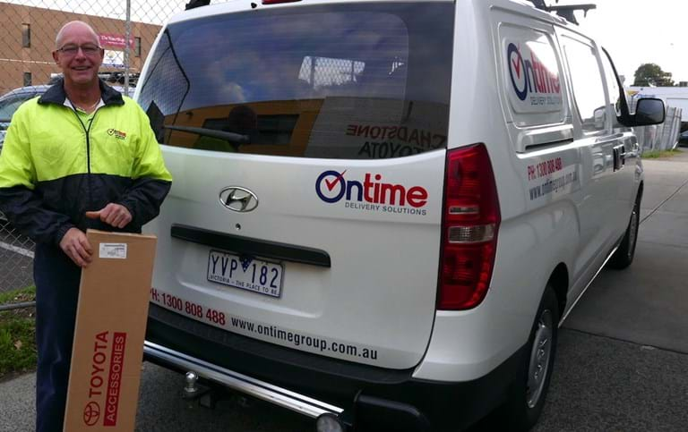 Ontime Delivery Solutions contractor Peter James.