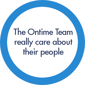 ontime cares about their people